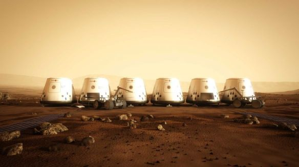 Mars One Concept Art 3 - image courtesy of Mars One