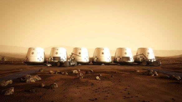 Mars One Concept Art 3 - image courtesy of Mars One